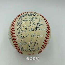 1996 New York Yankees W. S. Champs Team Signed World Series Baseball With JSA COA