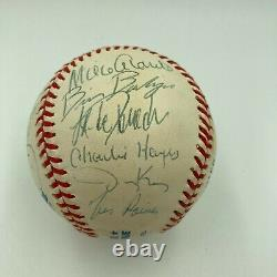 1996 New York Yankees World Series Champs Team Signed AL Baseball With JSA COA
