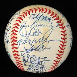 1997 Florida Marlins World Series Champs Team Signed W. S. Baseball With JSA COA