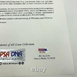 1998 NY Yankees World Series Champs Team Signed Joe Dimaggio Day Baseball PSA