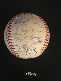 1999 NY YANKEES WORLD SERIES TEAM AUTOGRAPHED OMLWithS BASEBALL 21 SIGN. INC JETER
