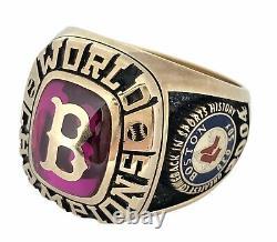 2004 Boston Red Sox World Series Champions MLB Baseball Championship Ring