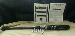 2010 Buster Posey Rookie/sign Psa Loa Game Used 10 Bat R. O. Y World Series Champ