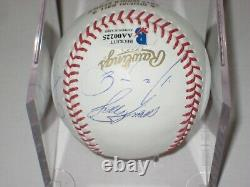 2012 San Francisco GIANTS Team Signed Official WORLD SERIES Baseball Beckett LOA