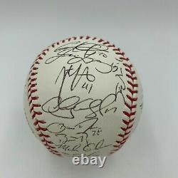 2012 San Francisco Giants World Series Champs Team Signed W. S. Baseball JSA COA