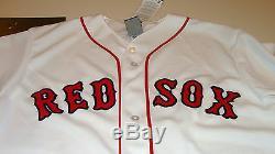 2014 Boston Red Sox MLB Baseball Jersey XL World Series Patch Home Majestic