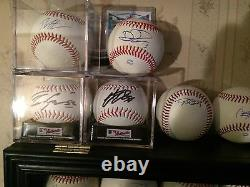 2016 World Series Champions Chicago Cubs Autograph Baseball Rizzo Bryant Zobrist