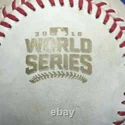 2016 World Series Game 3 Wrigley Field Chicago Cubs Game Used Baseball Mlb Holo