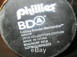 2018 Phillies Phestival Charlie Manuel AUTOGRAPHED 2008 World Series Bobble Head