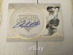 2018 Topps Definitive World Series Champion Andy Pettitte Auto #15/35 NY Yankees
