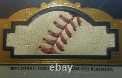 2018 Topps Dynasty Jose Altuve Houston Astros Auto Relic Card 2017 World Series