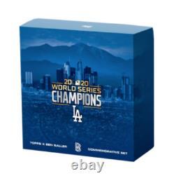 2020 Topps Ben Baller Los Angeles Dodgers World Series Champions Box Brand New