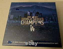 2020 Topps X Ben Baller Dodgers World Series Championship IN HAND FAST SHIP