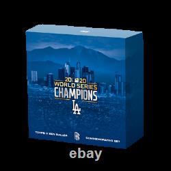 2020 Topps X Ben Baller Los Angeles Dodgers World Series Championship Set withAUTO