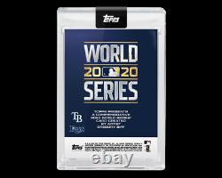 2020 Topps X Gregory Siff Card 2 Randy Arozarena world series