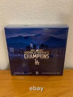 2020 Topps x Ben Baller Los Angeles Dodgers World Series Champion's Set 1 Auto