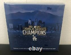 2020 Topps x Ben Baller Los Angeles Dodgers World Series Champion's Set NIB
