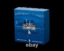 2020 Topps x Ben Baller Los Angeles Dodgers World Series Champion's Set SOLDOUT