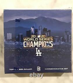 2020 Topps x Ben Baller Los Angeles Dodgers World Series Champion's Set Sealed