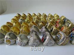 25pcs 1927 to 2018 astros Random World Series Baseball Team Ring Set Fan Gift