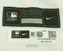 ALEXANDER size 44 2020 Los Angeles Dodgers WORLD SERIES game jersey used MLB