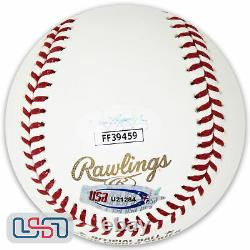 Albert Pujols Cardinals Signed Autographed 2006 World Series Baseball JSA Auth