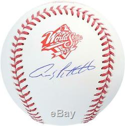 Andy Pettitte New York Yankees Autographed 1998 World Series Logo Baseball