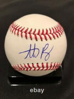 Anthony Rizzo Cubs 2016 World Series Signed Official Major League Baseball JSA