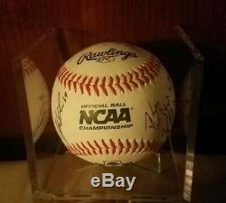 Autograph Auto Vanderbilt Baseball Team 2019 COLLEGE WORLD SERIES CHAMPS CWS