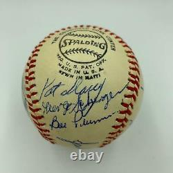 Beautiful 1976 Cincinnati Reds World Series Champs Team Signed Baseball PSA DNA