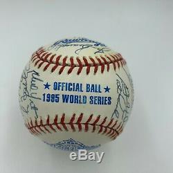 Beautiful 1995 Atlanta Braves WS Champs Team Signed World Series Baseball JSA