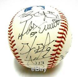 Brandon Crawford Belt Buster Posey 2012 Autographed TEAM Signed Baseball Giants