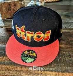 Bun B Houston Astros 7 1/2 World Series Champs Baseball cap hat 5950 NEW ERA