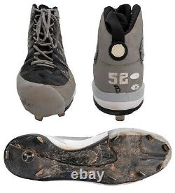 CC Sabathia Signed & Inscribed Game Used 2009 Yankees World Series Champs Cleat