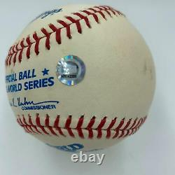 Cal Ripken Jr. Signed Official 1983 World Series Baseball MLB Authenticated Holo