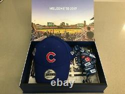 Chicago Cubs 2017 Season Ticket Booklets + World Series Souvenirs