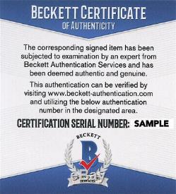 Chicago Cubs Sammy Sosa Signed 2016 World Series Baseball Auto Beckett BAS COA