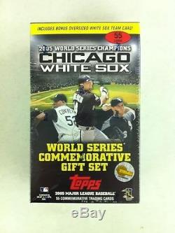 Chicago White Sox 2005 World Series Champions Factory Sealed Box Set 55 Cards