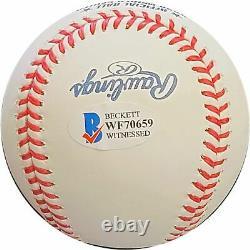 Clayton Kershaw Signed Autographed 2020 World Series Champ Baseball Dodgers MLB