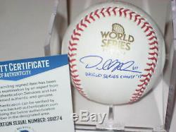DALLAS KEUCHEL (Astros) Signed 2017 WORLD SERIES Baseball with Beckett COA & Inscr