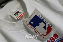 DODGERS 1988 MLB Baseball Los Angeles LA World Series Champions Medium T-Shirt