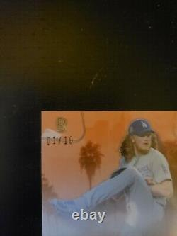 DUSTIN MAY Auto Serial 1/10 Ben Baller 2020 Topps World Series Dodgers