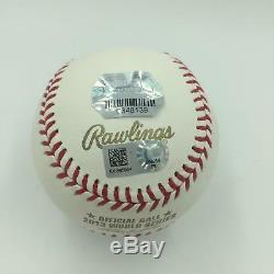 David Ortiz 2013 World Series Champs Signed W. S. Baseball MLB Authenticated