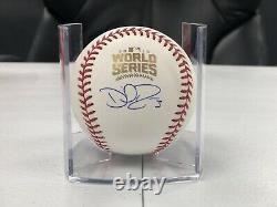 David Ross Signed Official 2016 WORLD SERIES Baseball with Beckett COA PROOF