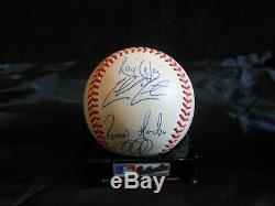 Derek Jeter +10 Signed 1999 World Series Rawlings Baseball- N. Y. Yankees- Sale