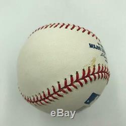 Derek Jeter 2000 World Series MVP Signed Inscribed MLB Baseball Steiner COA