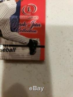 Derek Jeter 2001 Fleer Legacy Jeter Collection World Series Game Used Baseball
