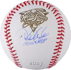Derek Jeter New York Yankees Autographed 2000 World Series Logo Baseball