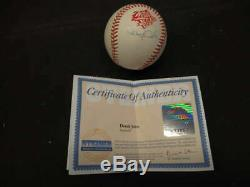 Derek Jeter Signed Auto Autograph 1998 World Series Baseball Steiner Coa Bb376
