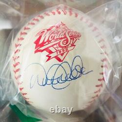Derek Jeter Signed Autograph Baseball, 1998 World Series, Steiner/ MLB COA